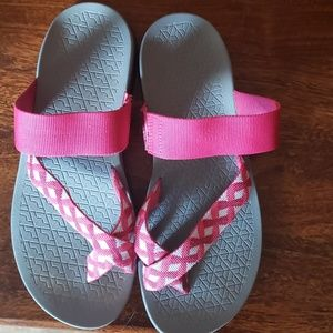 Pink Chaco Sandals sz 8